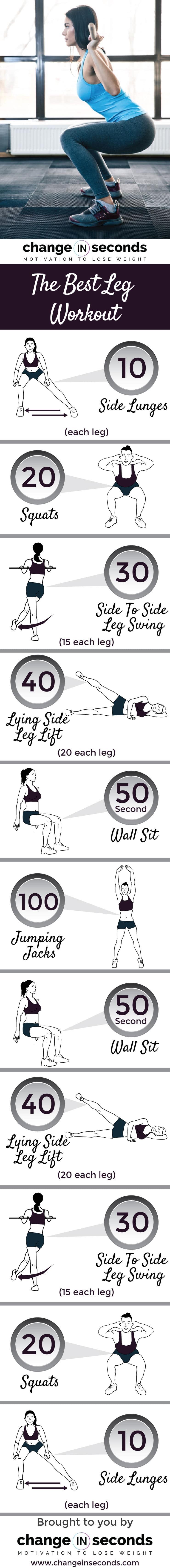 Leg Workouts For Women