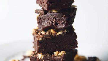 Vegan No Bake Peanut Butter Brownie Bites