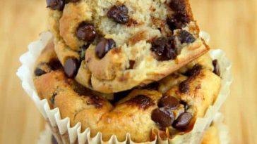 Banana Oat Greek Yogurt Muffins