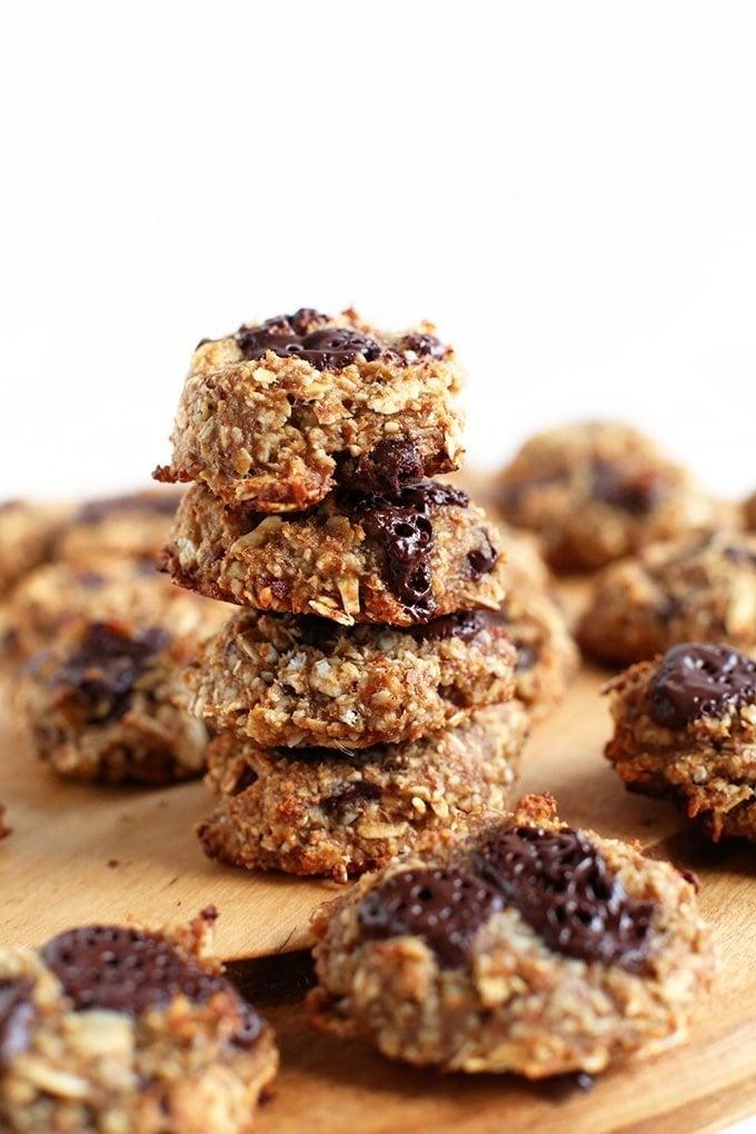 5 Ingredient Vegan Gluten Free Cookies