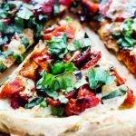 Gluten Free Caprese Pizza
