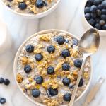 Clean Eating Breakfast Overnight Oats