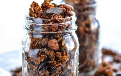 Dark Chocolate Coconut Almond Granola