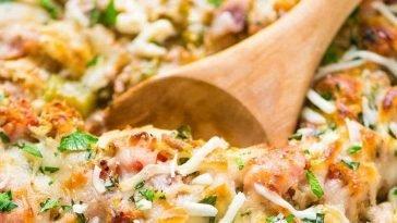 Healthy Spaghetti Squash Casserole