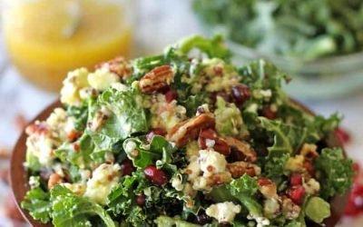 Kale Salad With Lemon Honey Vinaigrette