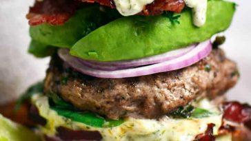 Paleo Bacon Burger