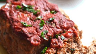 Turkey Tomato Basil Meatloaf