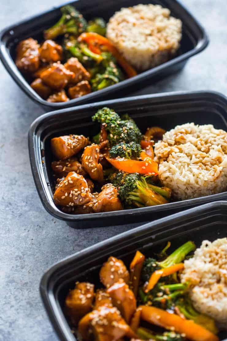 Meal Prep – Teriyaki Chicken and Broccoli