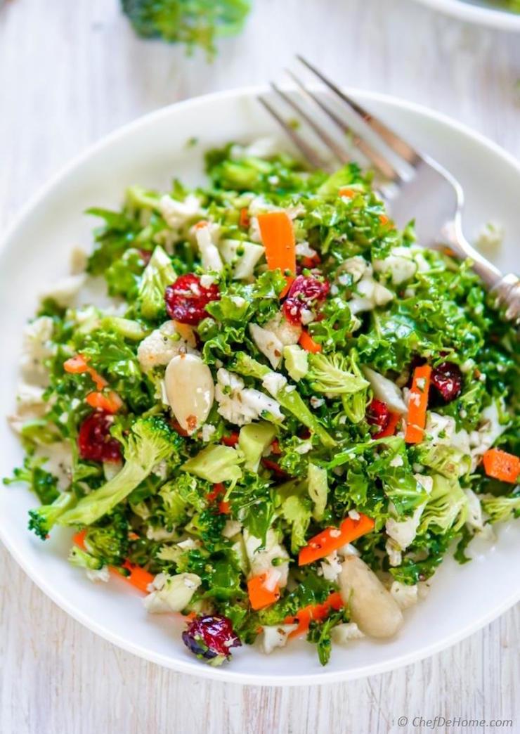 Полезные салаты при диете