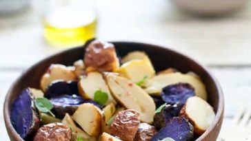 Roasted Potato Salad With Oregano
