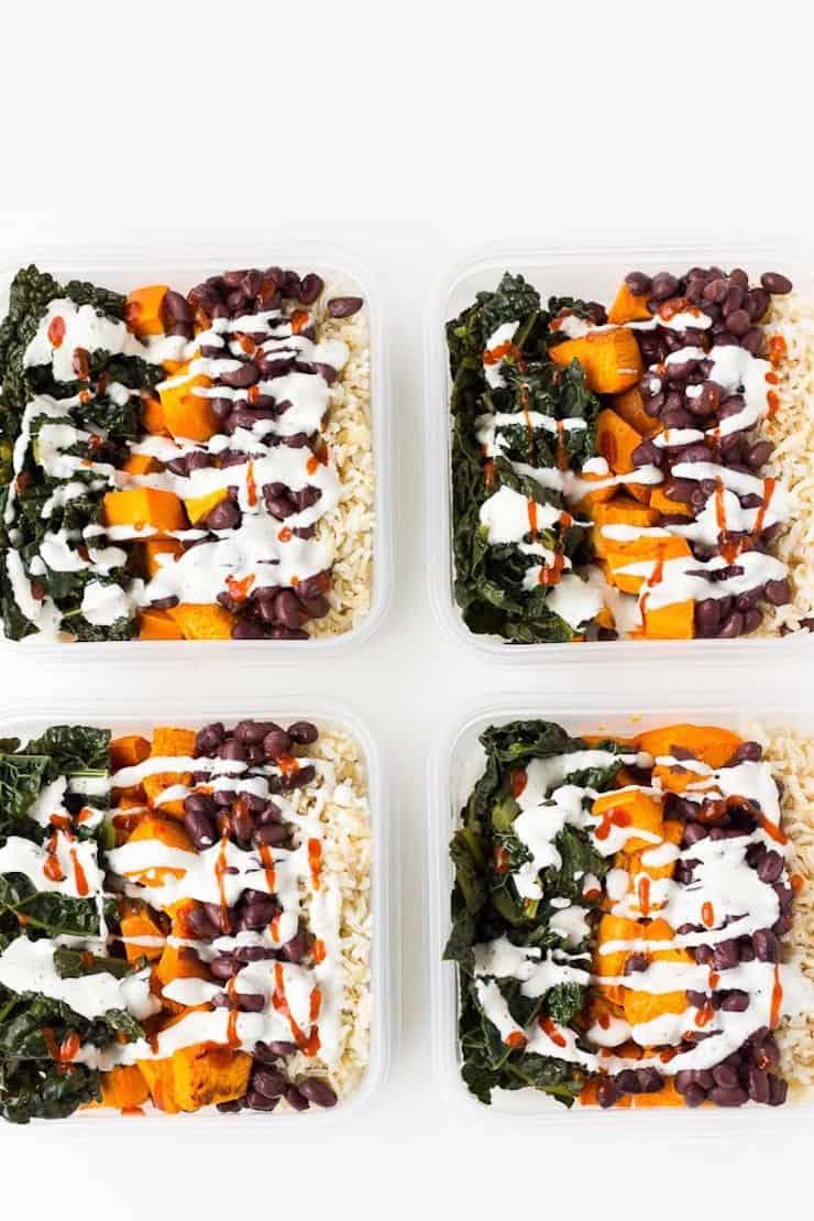 Easy Vegan Meal Prep