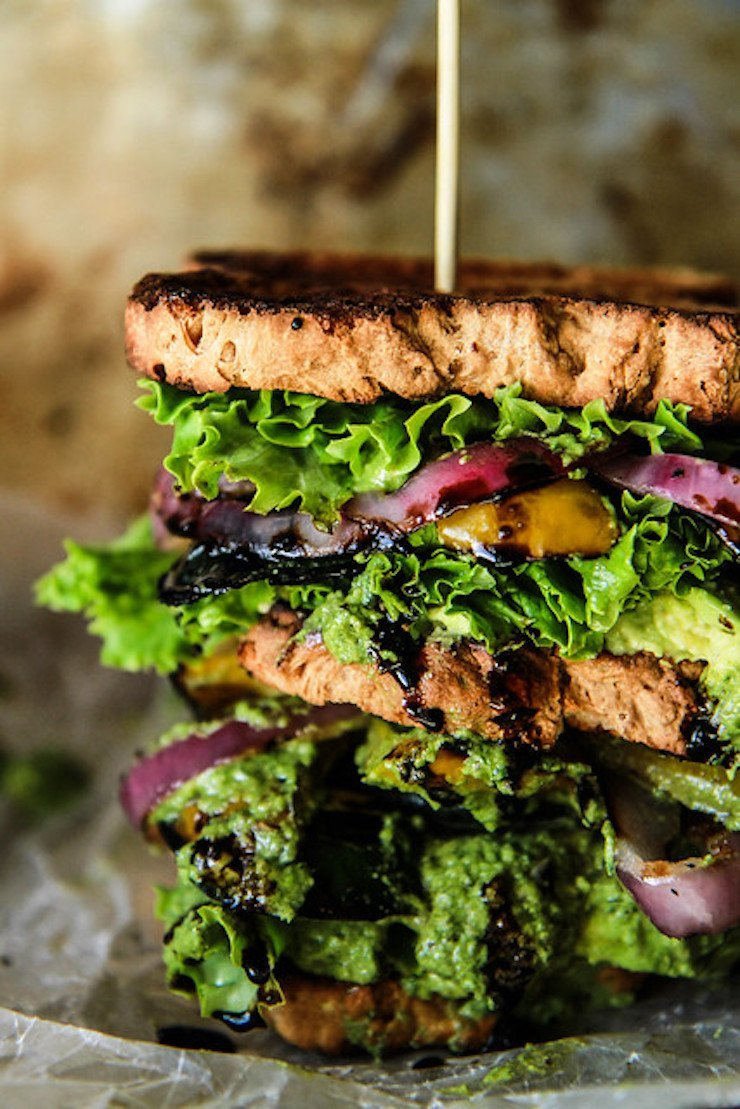 Ultimate Verde Veggie Sandwich