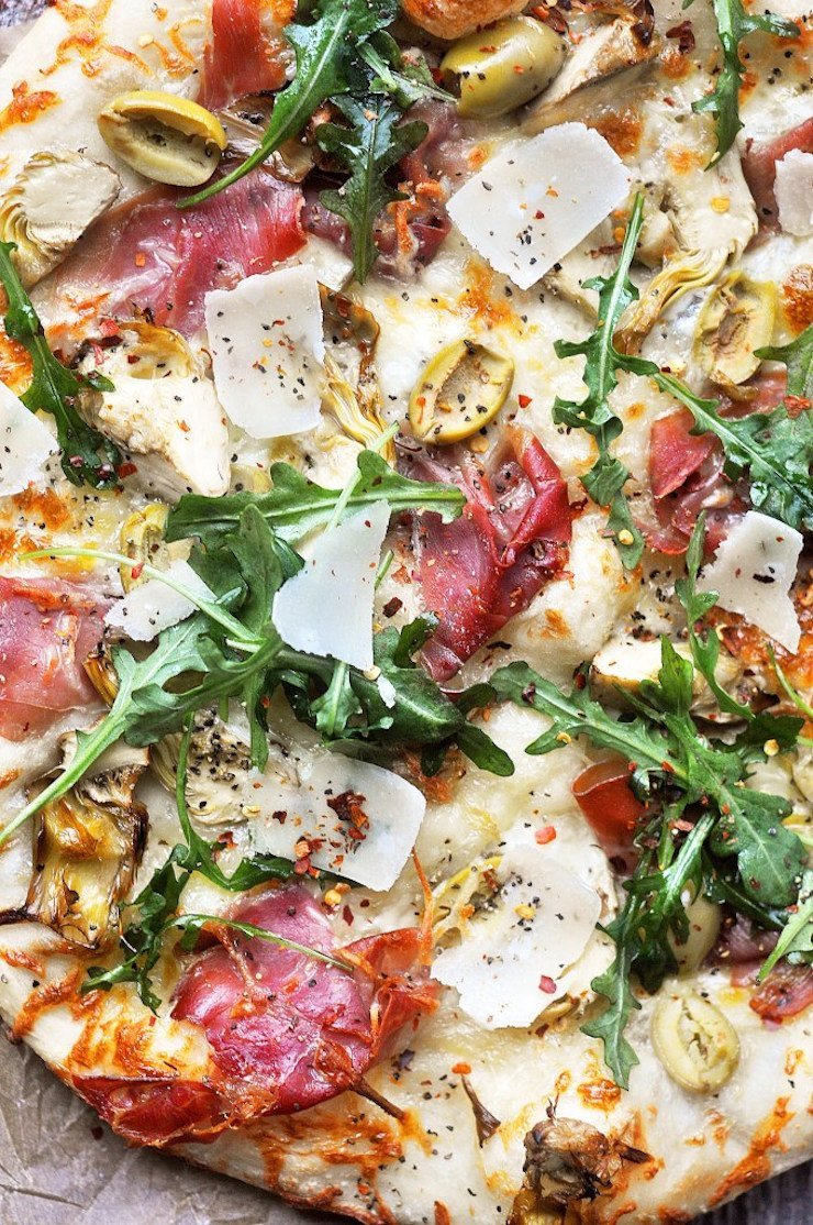 Charcuterie Pizza