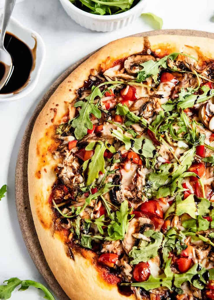 Healthy Chicken Pizza