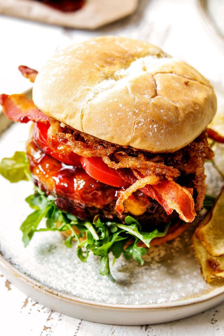 Bacon BBQ Burgers