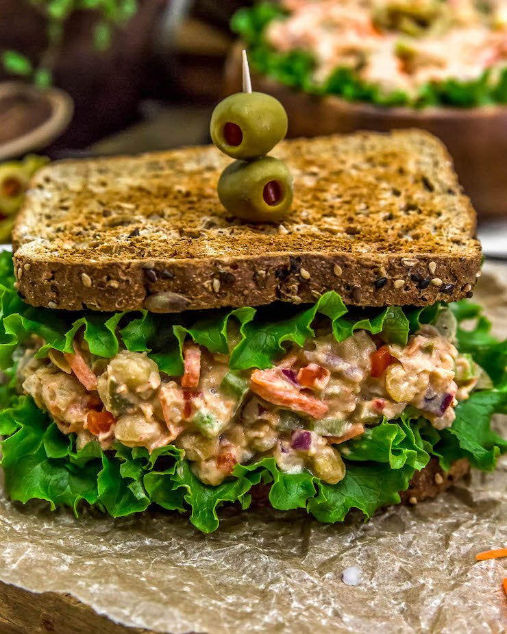 Pimento Olive Chickpea Salad