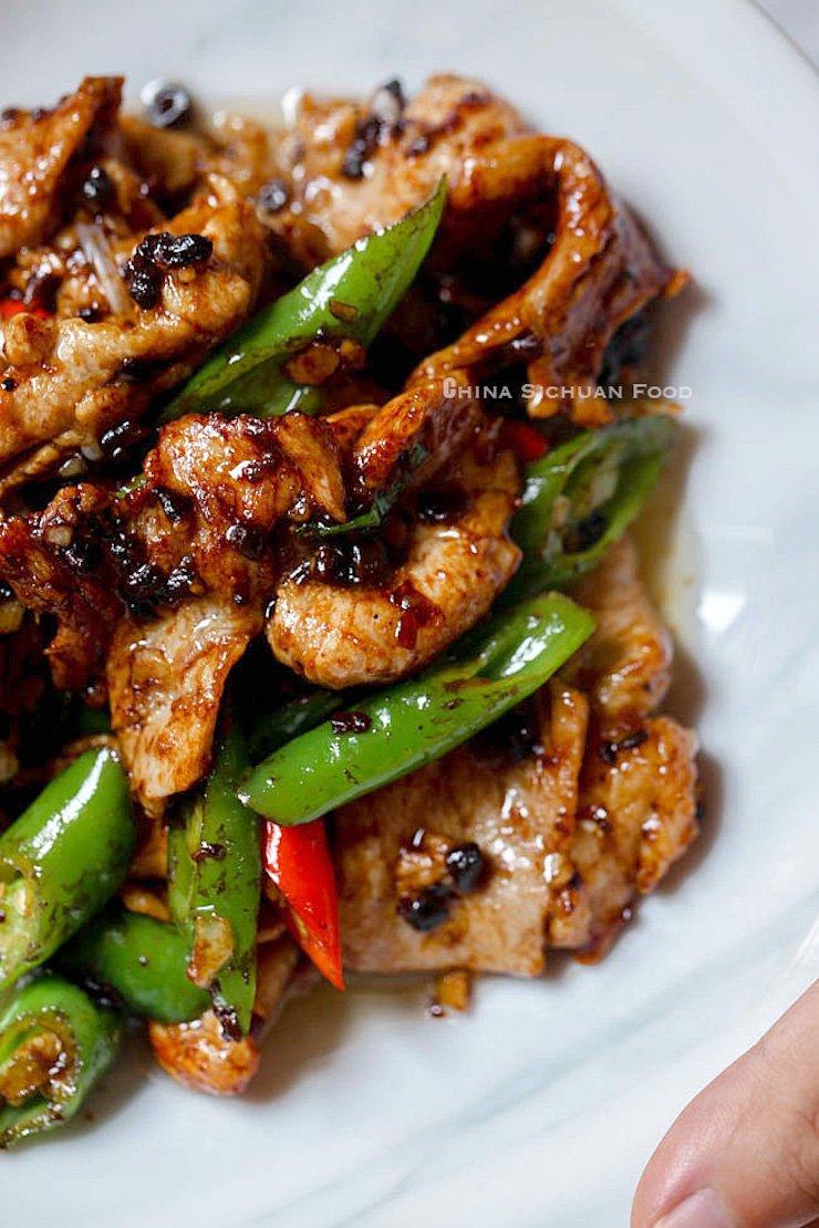 Pork Stir Fry With Black Bean Sauce