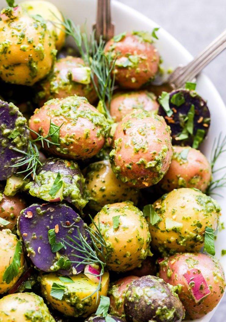 Chimichurri Potato Salad