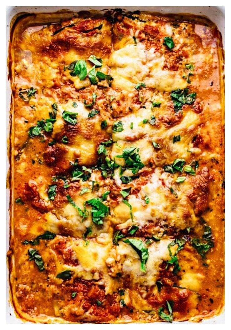 Easy Zucchini Lasagna