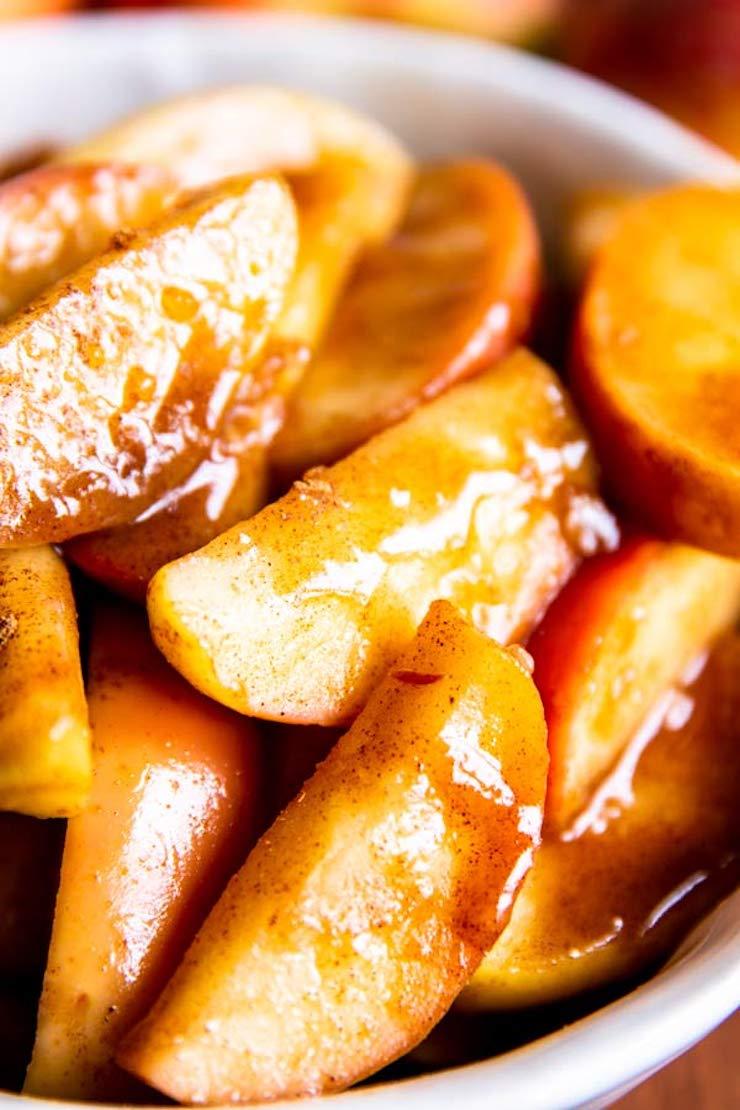 Healthy Cinnamon Apples