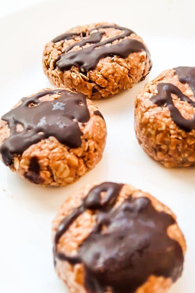 Healthy No-Bake Breakfast Cookies