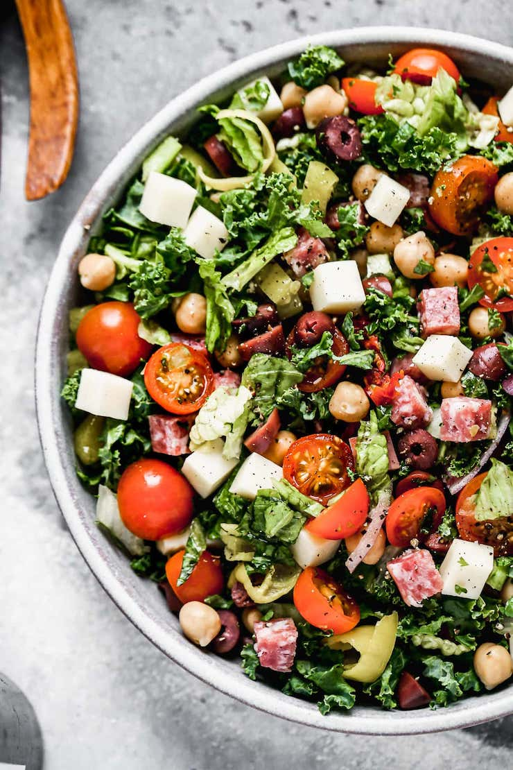 Italian Chopped Salad - Dinner Salad Recipes