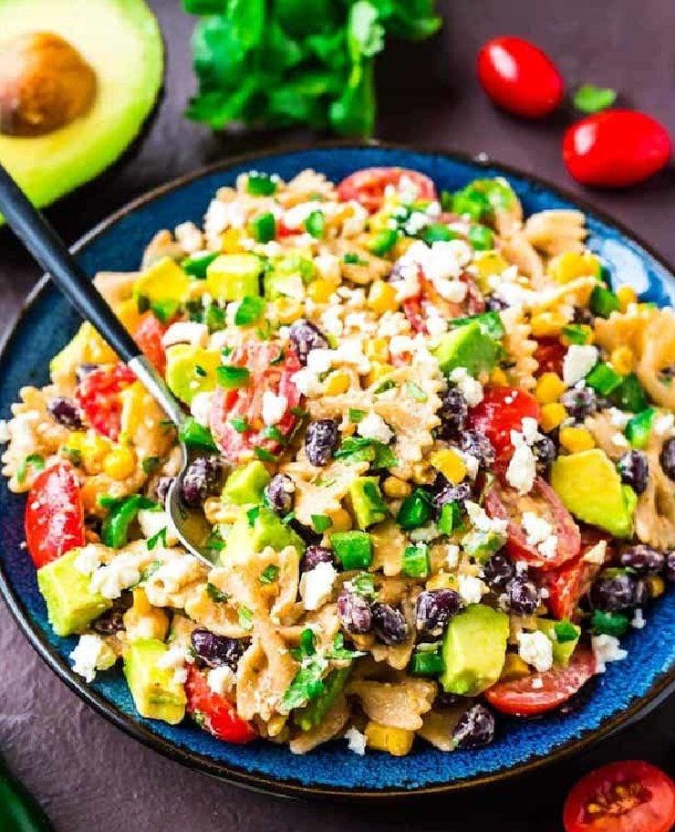 Mexican Pasta Salad - Dinner Salad Recipes